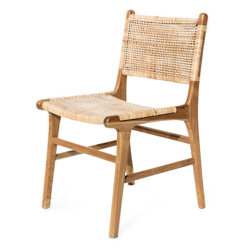 Coco | Teak & Rattan Dining Chair