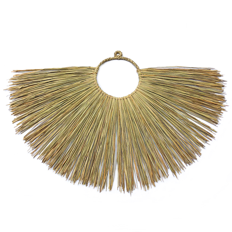 Luna   Seagrass wall hanging