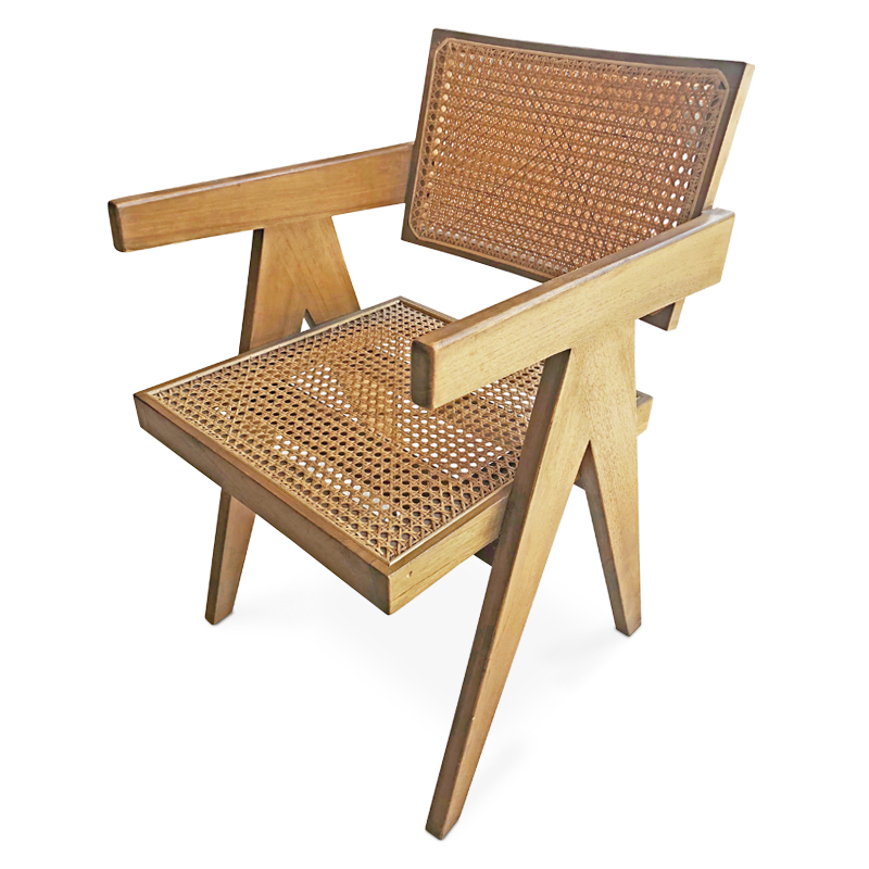 Mood | Rattan & teak chair