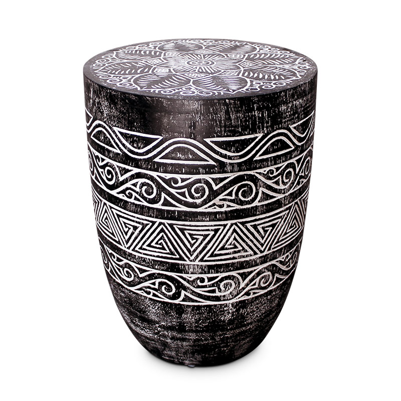 Papua   Carved Palm Table