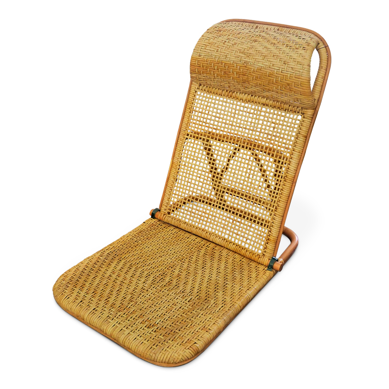 Pose | Rattan beach lounger