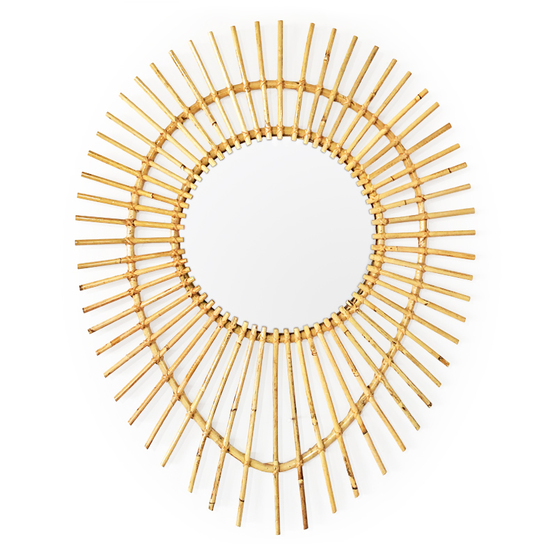 Sunrise | Rattan mirror