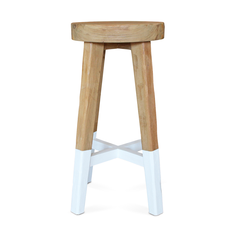 Watu | Rustic Teak Bar Stool