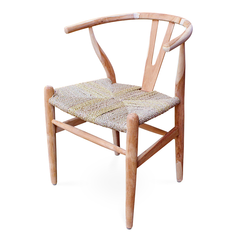 Wish | Teak & Seagrass Dining Chair