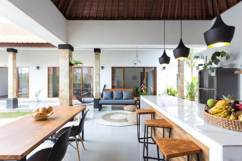 Modern Open Air Kitchen | INBALI