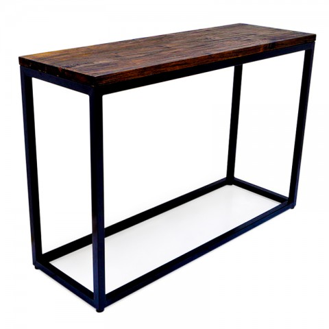 Peninsula | Boatwood & iron console