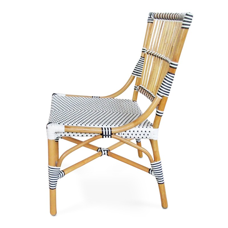 Dua | Bamboo & Rattan Dining Chair