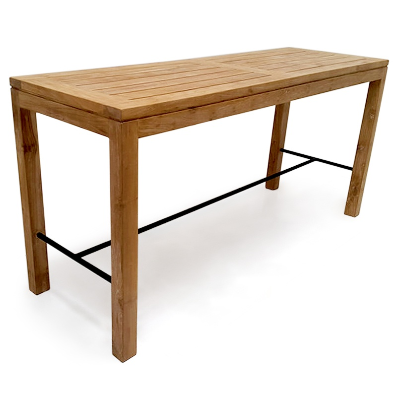 Element | Teak & iron bar table