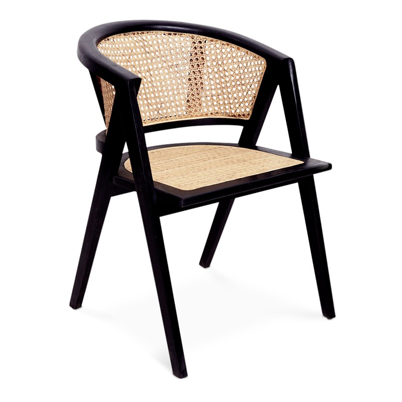 Feel | Teak & Rattan Dining Chair