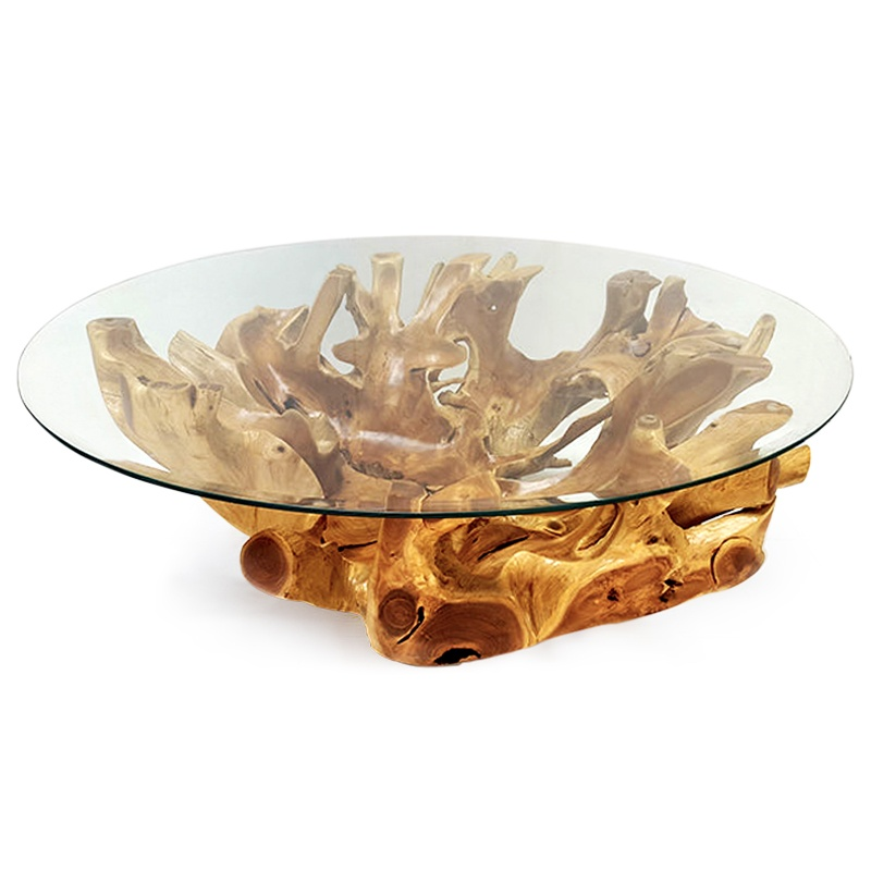 Fluide | Teak root coffee table