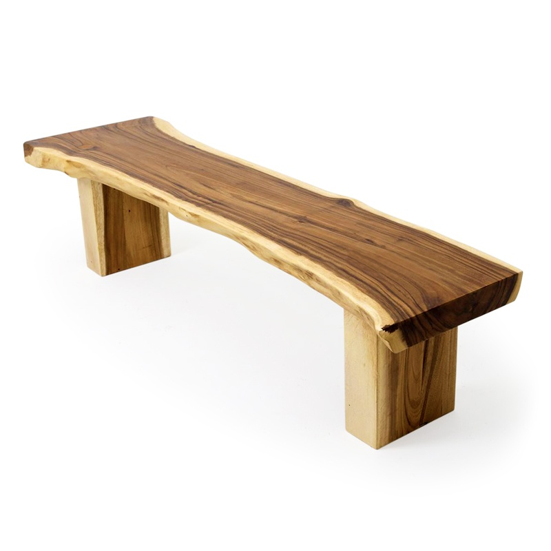 Foundation | Suar wood bench
