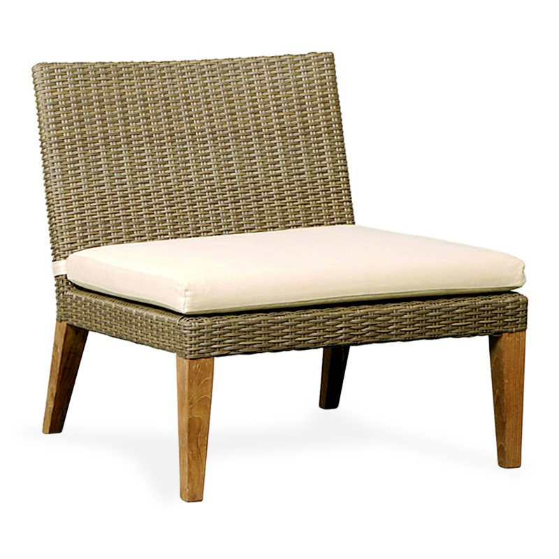 Hope | Synthetic rattan lounger
