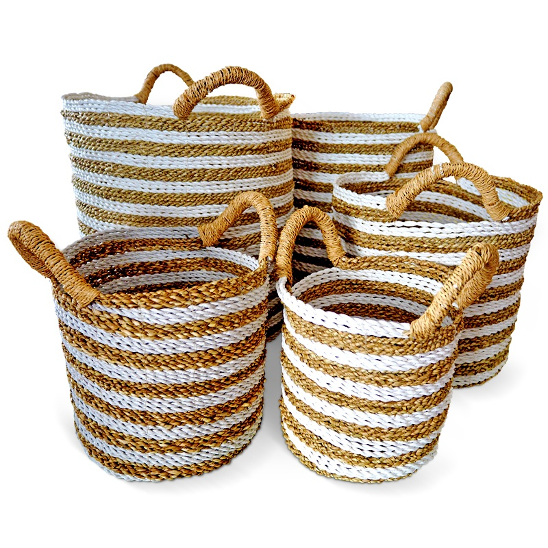 Lemongrass | Natural rattan basket