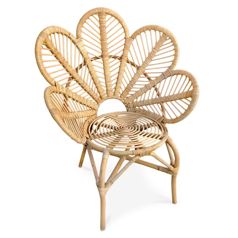 Lotus | Rattan lounger