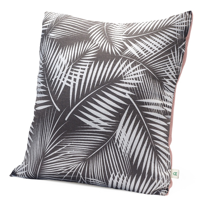 Palm | Handmade linen cushion 45x45