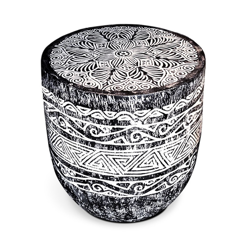 Papua | Carved palm table