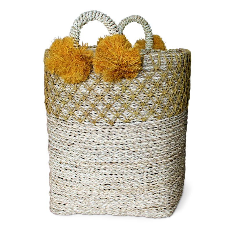 Pineapple | Natural rattan basket