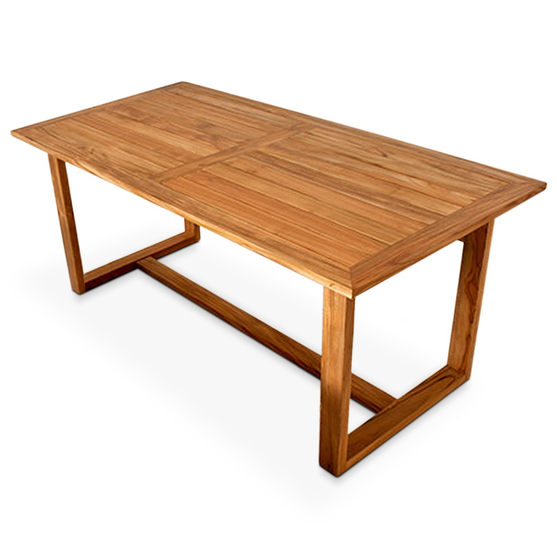 Surface | Teak dining table