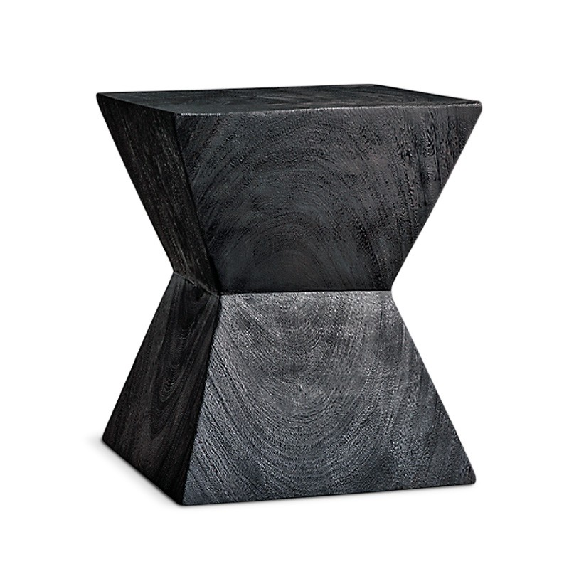 Theta | Blackened suar side table