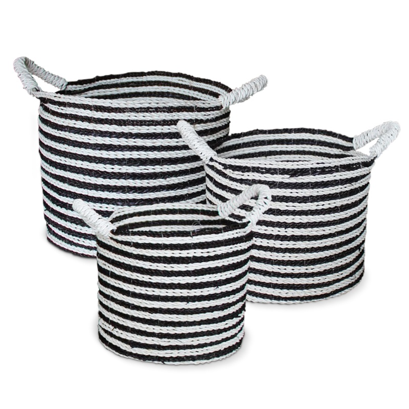 Zebra | Natural rattan basket